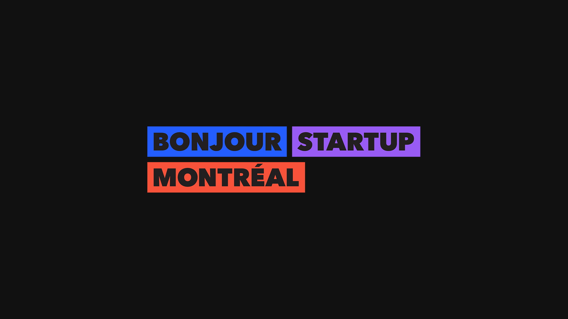 Launching Bonjour Startup Montréal: Positioning Montreal in the top 20 startup ecosystems worldwide