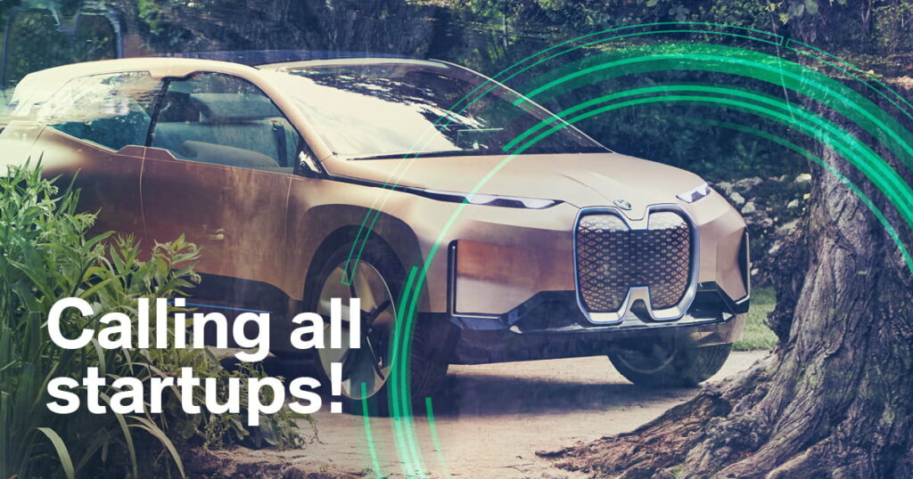 Open Call 360° Sustainability Challenge by BMW